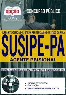 Promoção -  Apostila Concurso SUSIPE 2018 - AGENTE PRISIONAL  #concursos