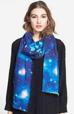 Nicole Miller Artelier 'Light Years Away' Scarf available at #Nordstrom