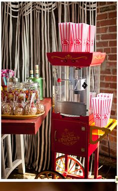 Ive got the popcorn machine and all i need is the candy for game room