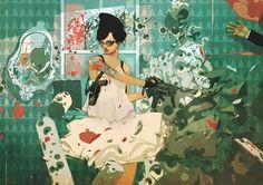 Dressed to Kill, Reynan Sanchez on ArtStation at http://www.artstation.com/artwork/dressed-to-kill