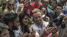 South Africa turn their sights on India - Yuppie Sports Ab De Villiers Ipl, Icc Cricket, Cricket News, Cricket World Cup, Espn, Superman, South Africa, Abs, Couple Photos