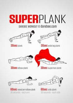 Super Plank Workout | Posted By: NewHowtoLoseBellyFat.com
