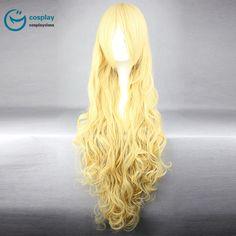 Assassination Classroom Irina Long Yellow Cosplay Wig #anime #wigs #prop #cosplay #girl