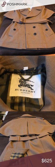 Burberry coat Sherlock Holmes style Burberry coat Burberry Jackets & Coats Pea Coats