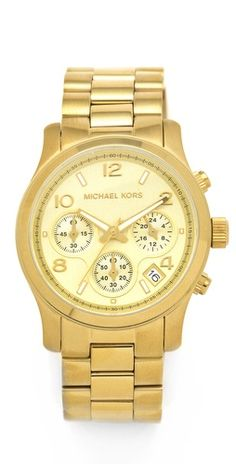Michael Kors Sport Watch (I think I'm going through a blingy watch phase)