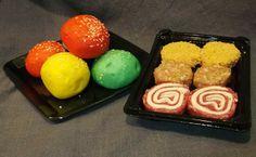 Pack degustació de mini panets de colors i mini hamburgueses per 5,46€