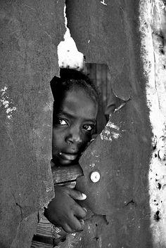 "Kibera slum, Nairobi~~prayed for sick children in ""hospital"" @ Kibera. So moving,,,"