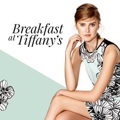 Pattern optical e contrasti block color per i look daily; linee fluide, paillettes e dettagli ricercati per quelli da sera. #Breakfastatiffanys #OltreBreakfasatiffanys #OltreSpringCollection #OltreCollection #Oltre2015