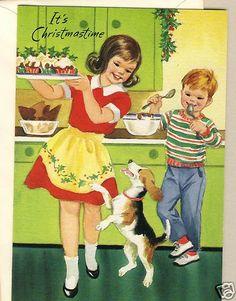 Christmastime baking.