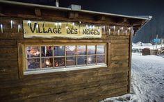 """Urgemütlich: das Restaurant """"Village des Neiges"""""""
