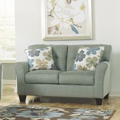 Found it at Wayfair - Signature Design by Ashley Sanford Loveseathttp://www.wayfair.com/Sanford-Loveseat-6640035-6640135-GNT3245.html?refid=SBP