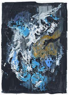 Georg Baselitz (German: 1938) -Stunde der Nachtigall (2012)