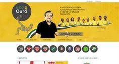 site desenvolvido para o radialista Antonio Oliveira