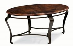 Oval Cocktail Table | Bernhardt
