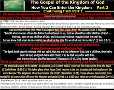 They follow the Lamb wherever he goes: The Gospel of the Kingdom - How You Can…