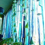 Incredibly creative under the sea decorations - good for mermaid or Octonauts parties too