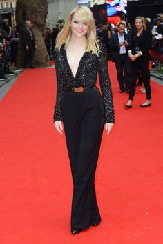 EMMA STONE at The Amazing Spider-man Premiere
