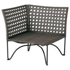 JUTHOLMEN Hjørneseksjon, utendørs - mørk gråbrun mørk grå - IKEA Ikea Outdoor, Outdoor Chairs, Outdoor Furniture, Outdoor Daybed, Garden Furniture, Plein Air Ikea, Ikea Exterior, Wood Supply, Ikea Family