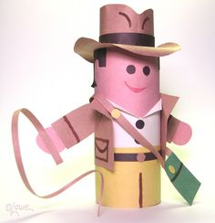 Indiana Jones Toilet Paper Roll Craft Project for Kids