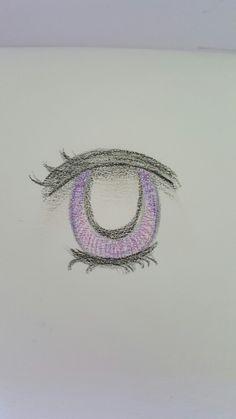 just drawing #pencils #purple #eyes