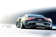 Audi R12 sketch
