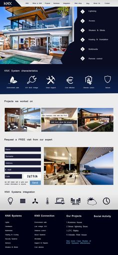 KNX concept webpage