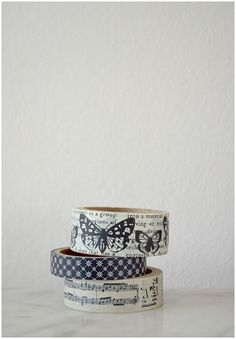 sweet washi tape///this picture is too simple + lovely///