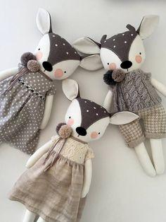 luckyjuju fawn deer doll boy