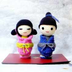 Amigurumi pattern  Little Sister N Brother  Crochet di TGLDdoll