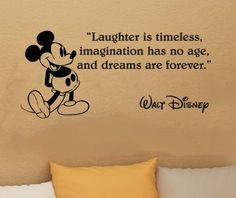 Walt Disney- I have to have this in my girls bedroom with her Minnie Mouse Themed room