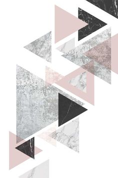 Canadian Art Prints and Winn Devon Art Group Inc. Wallpaper Pastel, Rose Gold Wallpaper, Iphone Background Wallpaper, Geometric Wallpaper, Tumblr Wallpaper, Aesthetic Iphone Wallpaper, Lock Screen Wallpaper, Geometric Art, Aesthetic Wallpapers