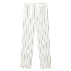Mango Pinstripe Pants