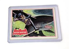 Topps 1966 Batman Red Bat – Warey Warfare 37A - Collector Cards