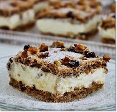 Hungarian Cake, Sweet Life, Tiramisu, Cheesecake, Cooking Recipes, Pie, Keto, Sweets, Cookies