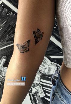 Mini Tattoos, Cute Tattoos, Small Tattoos, Tattoo Spots, Butterfly Tattoo Designs, Tattos, Piercings, Tattoo Ideas, Aesthetics