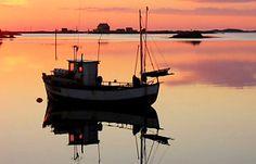 """Sjark"" fishingboat, Røst"