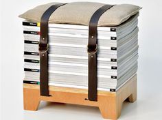 ideas to use a belt | ... bind together with belt or ribbons add cushion to use as stools