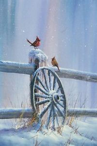 Jerry Yarnell On PBS | Details about PBS Artist Jerry Yarnell 'Winter Cardinal' instructional ...