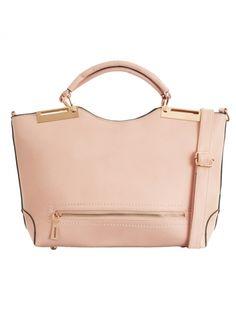 Jemima Peach Large Shopper Bag