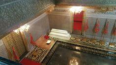 Parte interna do Mausoléu de Mohamed V - Rabat - Marrocos