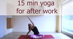 If you need to unwind after a long day, look no further. This 15 minute yoga sequence aims to release tension in the side body, low back and hips. Always work within a pain-free range and remember to breathe fully and mindfully.