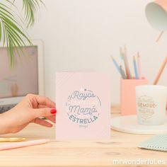 Descargable - Tarjeta para el día de la madre. | by Mr. Wonderful*