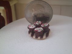 Dollhouse Miniature Half Inch Scale Chocolate by SpykerMiniatures, $2.50