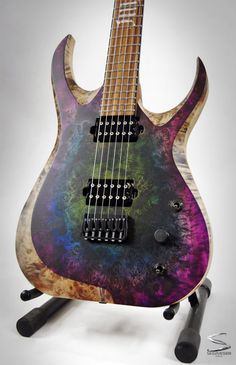 Acoustic Guitar Lessons, Guitar Art, Music Guitar, Cool Guitar, Playing Guitar, Guitar Painting, Custom Acoustic Guitars, Custom Guitars, Custom Bass