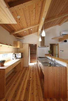 Japanese Interior Design, Japanese Home Decor, Japanese House, Home Interior Design, Interior Exterior, Kitchen Interior, Kitchen Design, Small Tiny House, Simple House Design