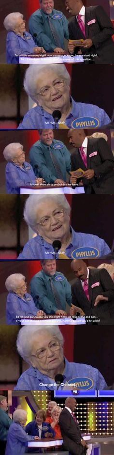 LMFAO!!!! I love old people; so funny. @Miranda Coupe