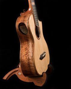 Ukulele Instrument, Tenor Ukulele, Acoustic Guitar, Bear Claws, Guitars, Instruments, Handmade, Hand Made, Acoustic Guitars