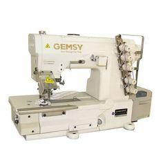 Kallunga Máquinas: Máquina de Costura Industrial Galoneira Com Motor ...