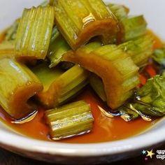 닭고기보다 더 맛있는 두부요리 '두부강정 만드는 법' Diet Recipes, Recipies, Cooking Recipes, Pickled Okra, Pickels, Korean Food, Korean Recipes, Kimchi, Celery