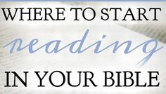 If you struggle with consistently reading the Bible because you don't know where to start, here is a list of places to start reading today, plus tips! Where In The Bible, Christian Life, Christian Sayings, Bible Study Tips, Proverbs 31 Woman, Women Of Faith, Bible Prayers, Bible Verses, Scriptures